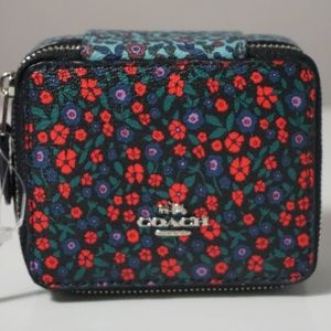 Coach Ranch Floral Print Mix Jewelry Box